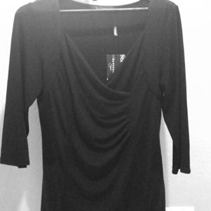 Beautiful black blouse new with tags